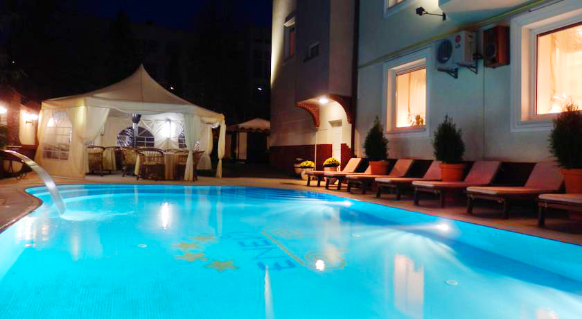 eney hotel lviv waterpool 3Отель Эней