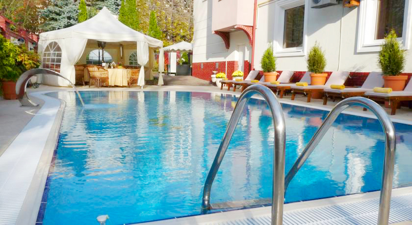 eney hotel lviv waterpool 5Отель Эней
