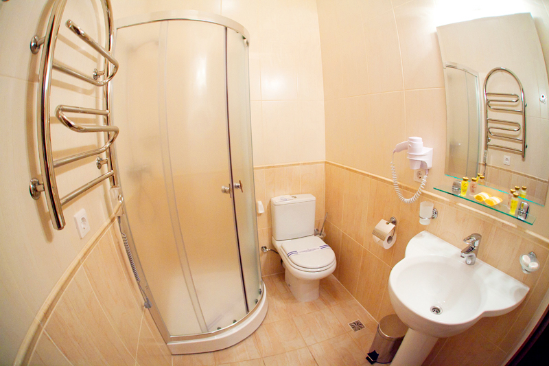 hotel edem twin standart suite bathroomГостиница Эдем