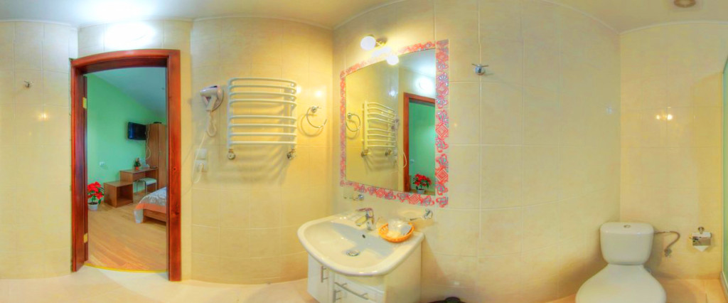 leotel hotel lviv standart twin suite bathroom 1024x426Отель Леотель