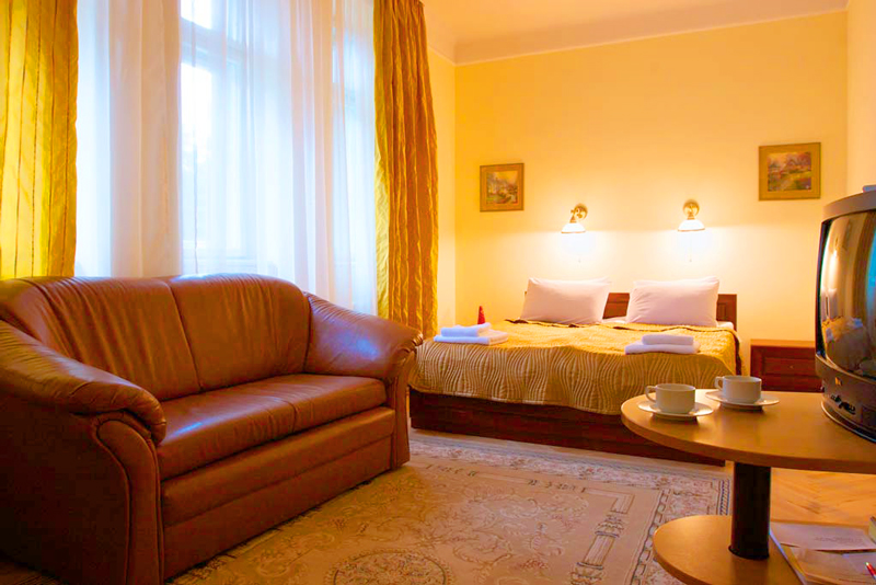 lion castle hotel austrian suite standart 3Гостиница Замок Льва