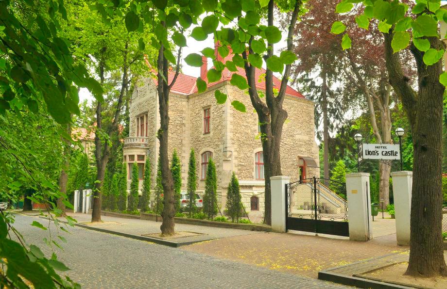 lion castle hotel frontГостиница Замок Льва