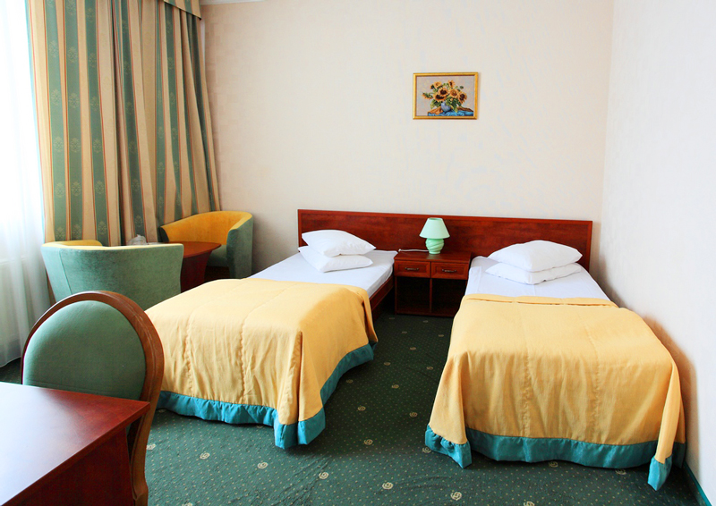 mars hotel standart twin suiteОтель Марс