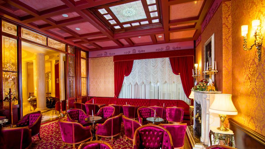 noblis hotel Lobby bar 1Отель Nobilis