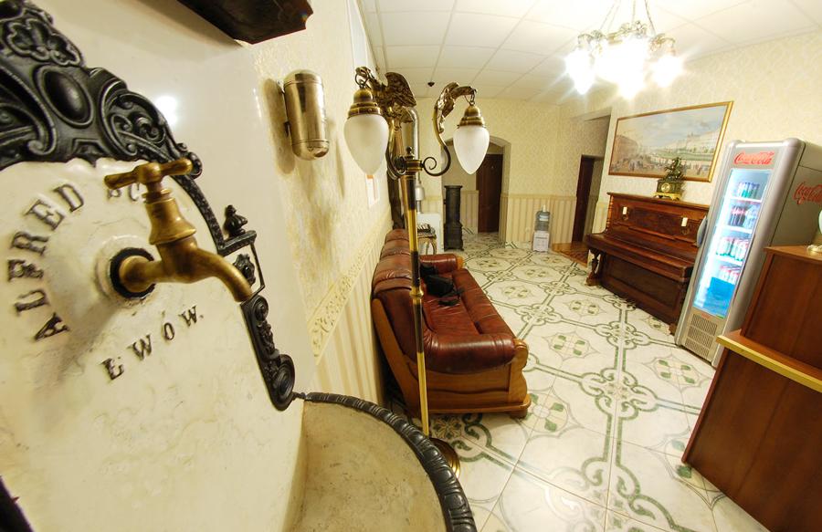 plazma hotel lviv lobbyОтель Плазма